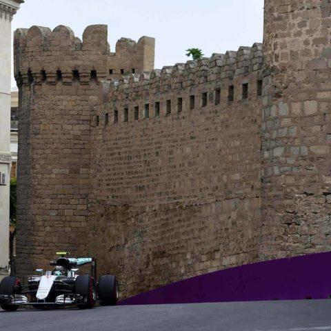 Baku F1 Citiy Circuit