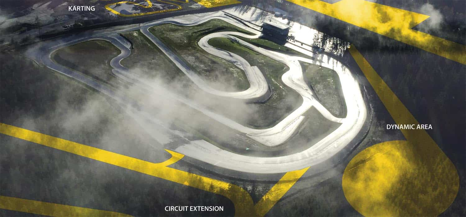 CT 22 racetrack modifications or extensions - CIRCUIT DESIGN - STRECKENBETREUUNG & BERATUNG