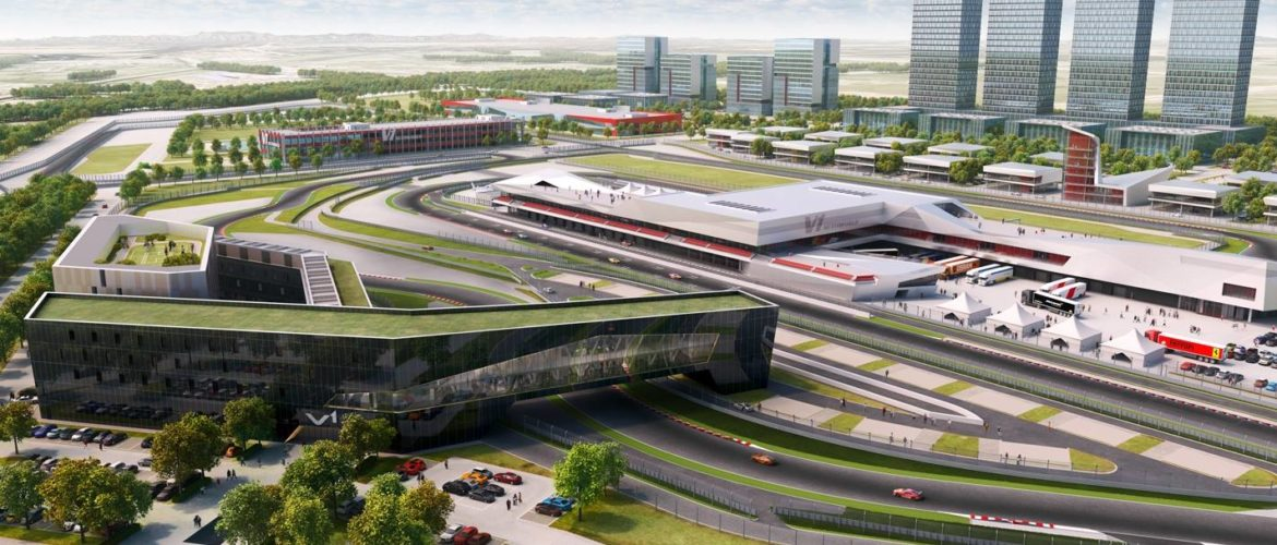 tianjin progress 1170x500 - Works progressing at our Project V1 Auto World in Tianjin, China!