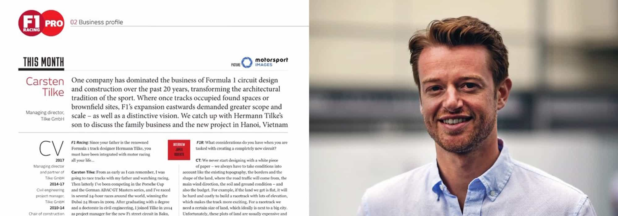carsten f1 magazine header - Interview with Dr. Carsten Tilke