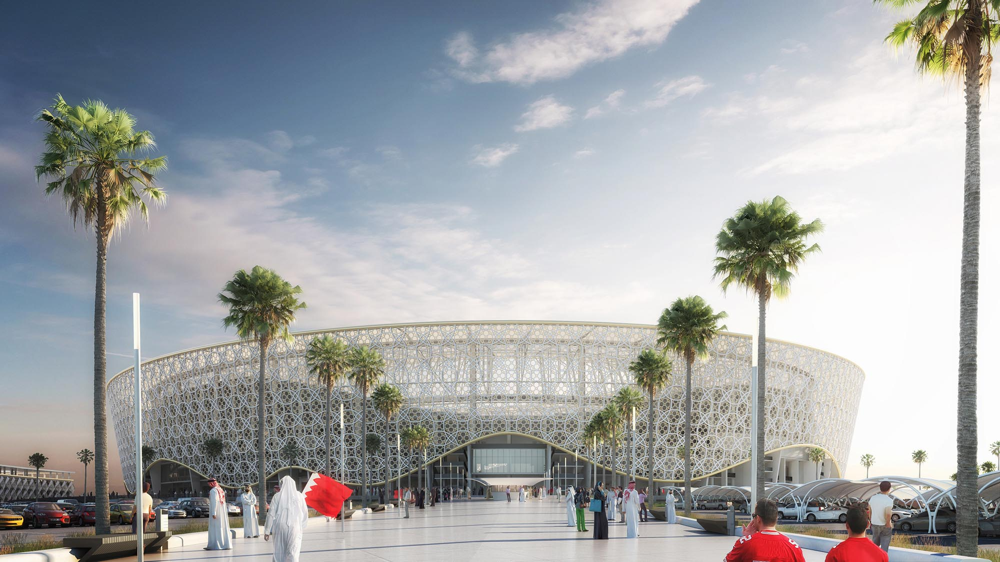 BAHRAIN FIFA STADION
