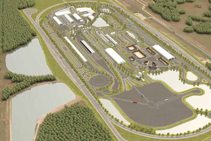SunTrax AV test site set for 2021 opening